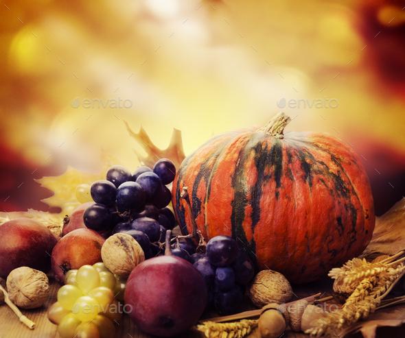 Thanksgiving still life - Stock Photo - Images