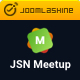 JSN MeetUp - Professional and Responsive Event Joomla Template