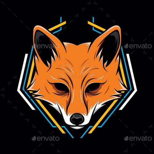 Fox Head Vector By Fooart Graphicriver