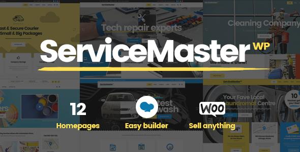Service Master - Handyman Theme
