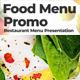 Food Menu Promo - VideoHive Item for Sale