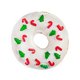 Christmas donut with white icing and sprinkles isolated on white background. - PhotoDune Item for Sale