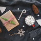 Top view of Christmas or winter time flat lay - PhotoDune Item for Sale