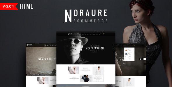 Noraure - Fashion HTML Template