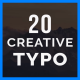 Creative TYPO - VideoHive Item for Sale