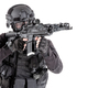 Police SWAT team fighter aiming assault rifle - PhotoDune Item for Sale