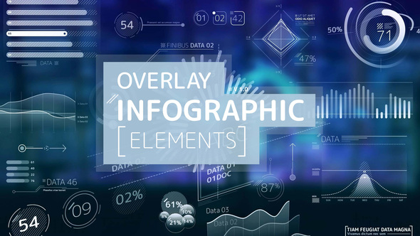 Overlay Infographic Elements Download Free