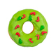 Christmas donut with green icing and sprinkles isolated on white - PhotoDune Item for Sale