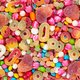 Colorful sweets and different colored candies. - PhotoDune Item for Sale
