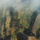Landscape from air on misty day, serbia, Zlatibor area. - PhotoDune Item for Sale