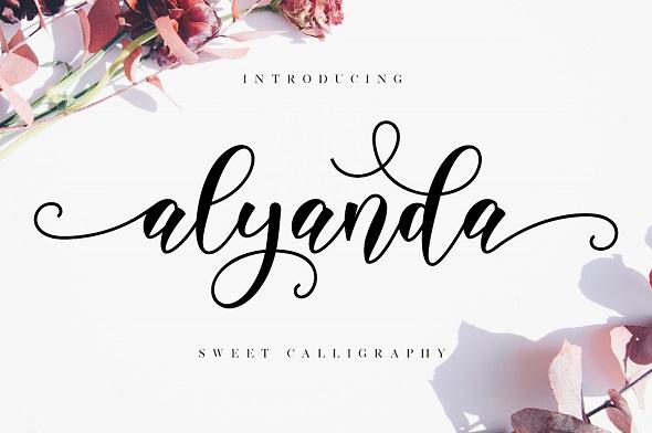 Alyanda Script