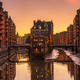 The old Speicherstadt in Hamburg - PhotoDune Item for Sale