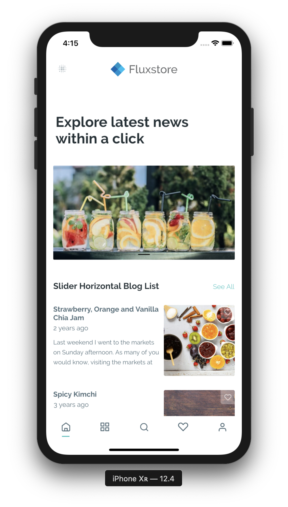 FluxNews - FluxNews - Flutter mobile app for Wordpress