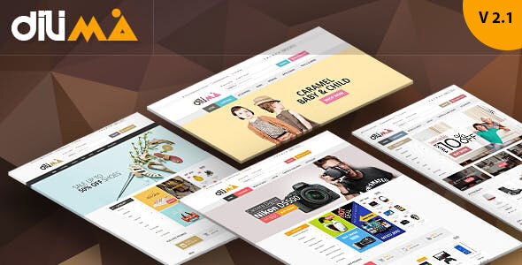 Dilima - Electronics Fashion Store HTML Template by HasTech
