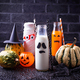 Selection of different Halloweens drinks for party - PhotoDune Item for Sale