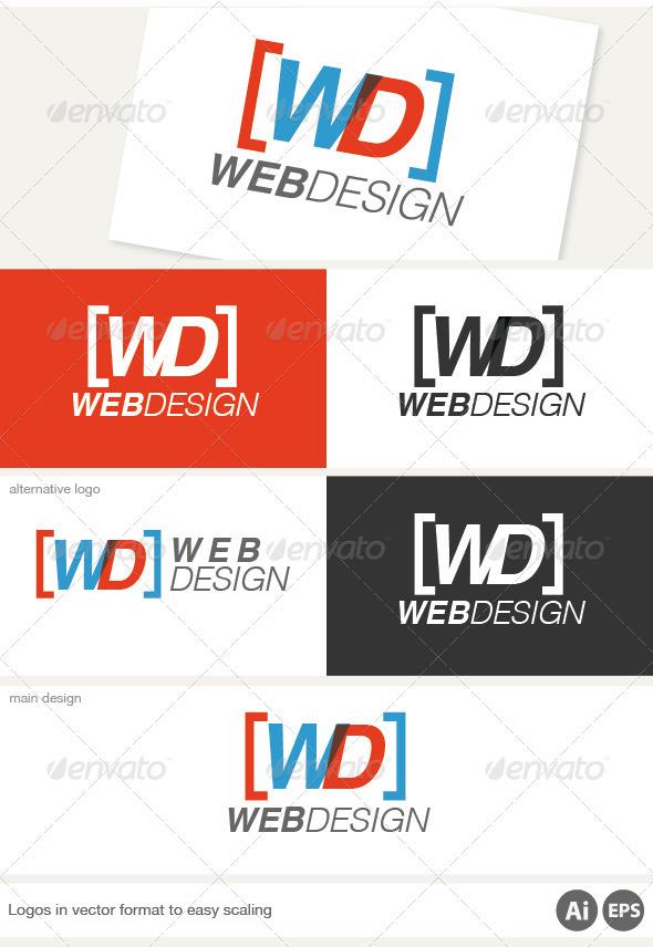 Web Design Logo - Letters Logo Templates