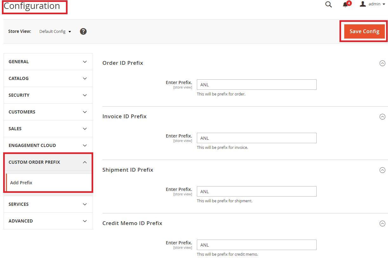 Magento2 Custom Order Number Extension - 1