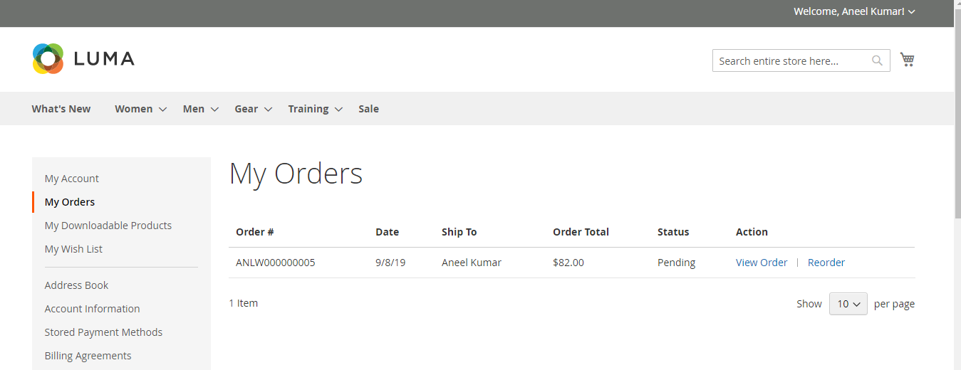 Magento2 Custom Order Number Extension - 6