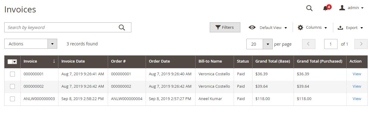 Magento2 Custom Order Number Extension - 3