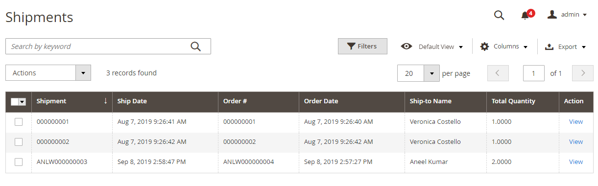 Magento2 Custom Order Number Extension - 4