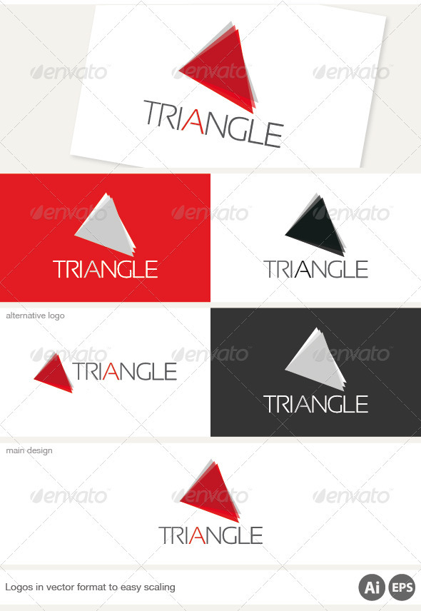 Triangle Logo - Symbols Logo Templates