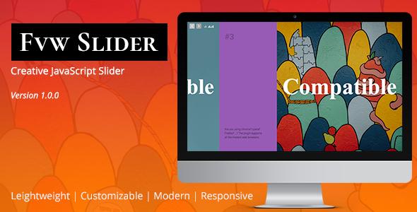 FVW Slider   JavaScript Slideshow Plugin