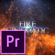 Fire Cinematic Titles - Premiere Pro - VideoHive Item for Sale