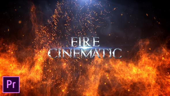 Fire Cinematic Titles – Premiere Pro