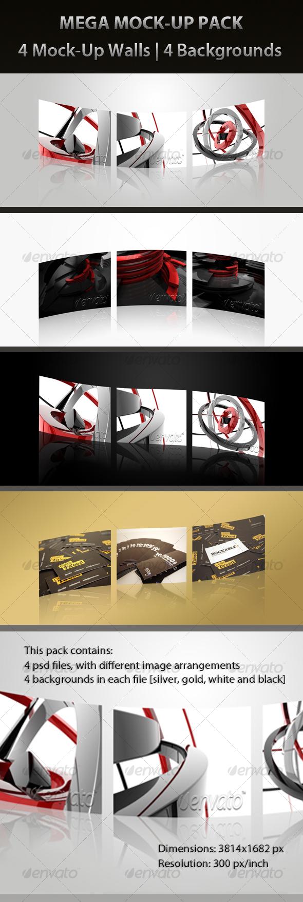 MEGA MOCK-UP PACK - Signage Print