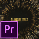 Glamour Titles - Premiere Pro - VideoHive Item for Sale