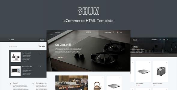 SHUM – eCommerce HTML Template by DmitryVolkov