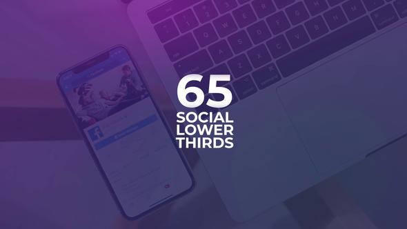 Social Media Lower Thirds Download