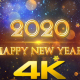 Happy New Year 2020 Gold - VideoHive Item for Sale