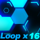 Hexagon Light Wall - VideoHive Item for Sale