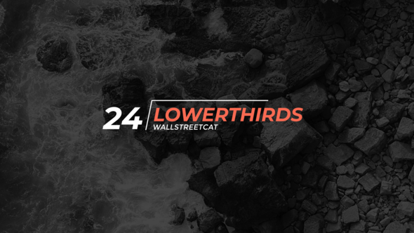 24 Lower Thirds Download