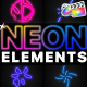 Neon Elements | FCPX - VideoHive Item for Sale