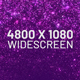 Purple Particles Widescreen Background - VideoHive Item for Sale