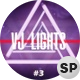 VJ Neon Triangular Lights Loops Ver.3 - 3 Pack - VideoHive Item for Sale