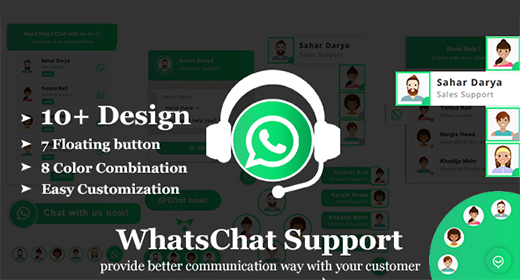 WhatsApp Chat jQuery Plugin