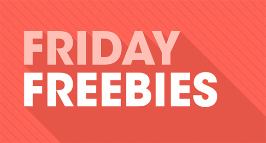 Friday Freebies - 13 September