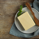 butter on old wooden table - PhotoDune Item for Sale
