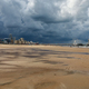 dramatic storm sky over sand beach in the Hague - PhotoDune Item for Sale