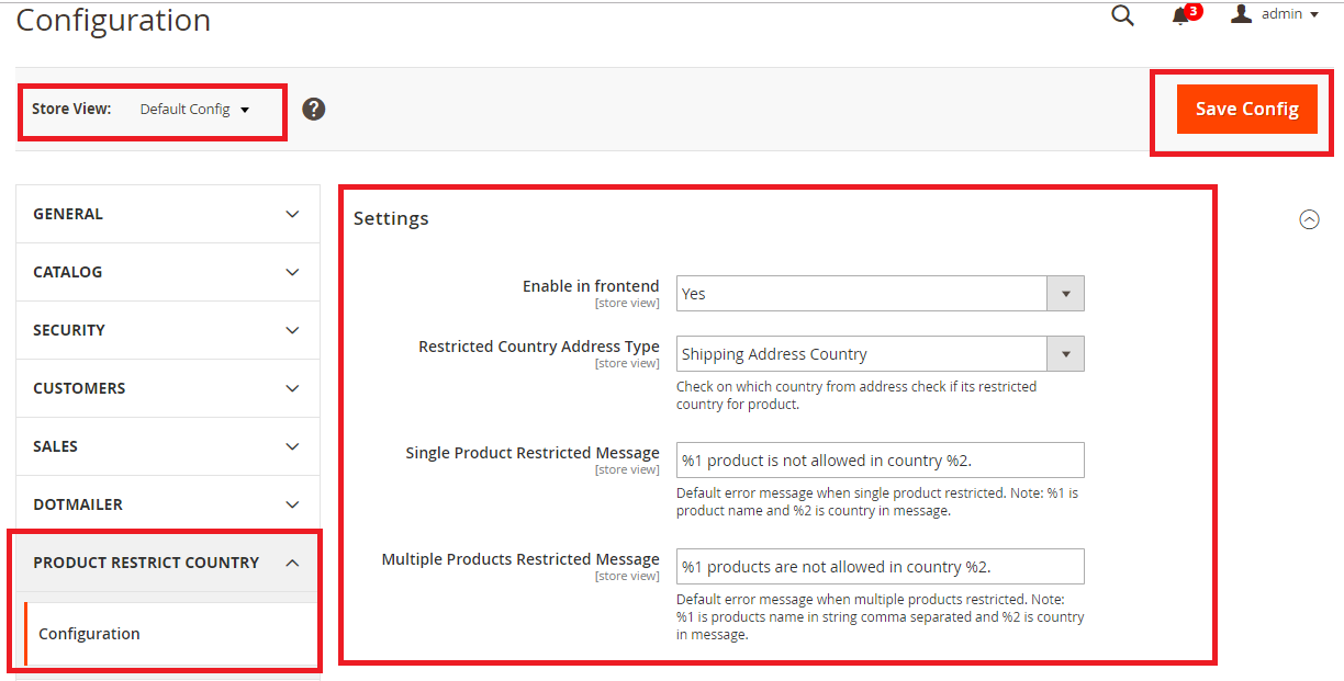 Magento2 Restrict Product By Country - 1