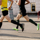 two men runners in compression socks - PhotoDune Item for Sale