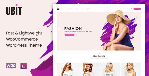 Ubit - Fashion Store WooCommerce Theme