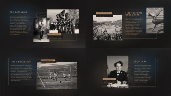 The History Presentation Premiere Pro