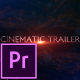 Cinematic Trailer Titles - Premiere Pro - VideoHive Item for Sale