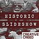 Historic Chronicle Slideshow  / World War / Old Vintage Memories / Retro Photo Album - VideoHive Item for Sale