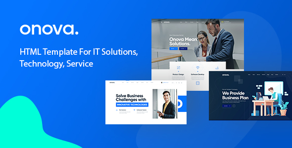 Onova - Technology IT Solutions & Services HTML5 Template by Webtend