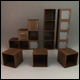 Office Cube Shelving - 3DOcean Item for Sale